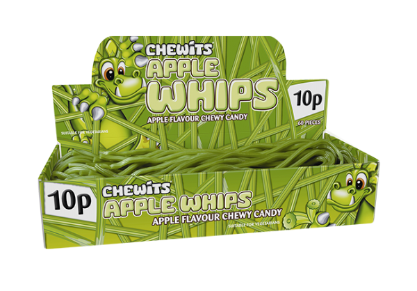 Chewits Apple Whips X5